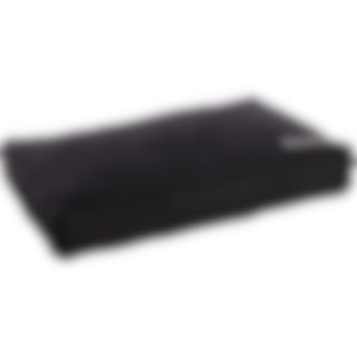 Coussin Dreambay Rectangulaire+bord+fermeture Eclair Noir 100x65x15cm