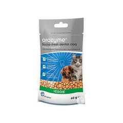 Orozyme Bucco Fresh Dental Croqs Chien&Chat <10kg 60gr