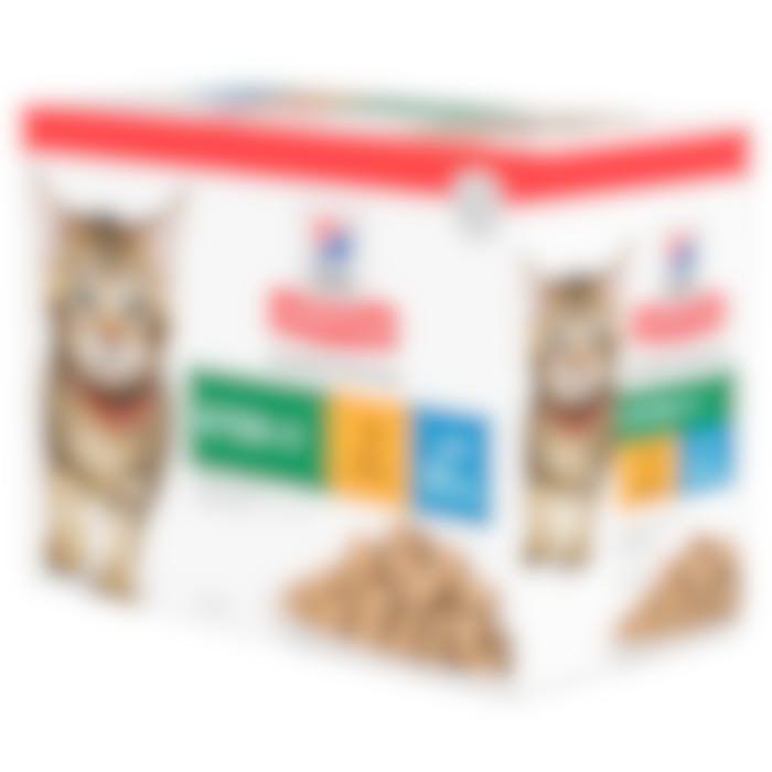 Hill's Science Plan Kitten multipack 12 sachets repas pour chaton poulet et poisson
