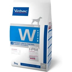 Virbac HPM Weight Loss & Control W2 pour chien 12kg