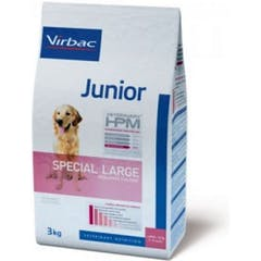 Virbac Veterinary Hpm Junior Special Large pour chien 12kg