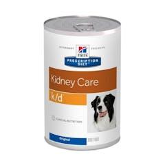 Hill's Prescription Diet K/D pour chien 12x370g