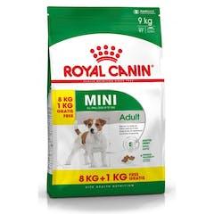 Royal Canin Mini Adult Pour Chien 8kg + 1kg Gratuit