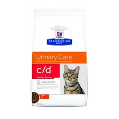 Hill's Prescription Diet C/D pour chat Anti-Stress 8kg
