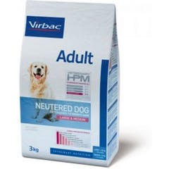 Virbac Veterinary Hpm Adult Neutered Large & Medium pour chien 7kg