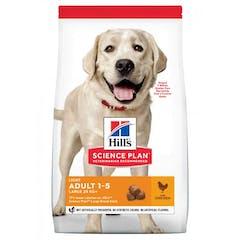 Hill's Science Plan Adult Light croquettes pour grand chien au poulet