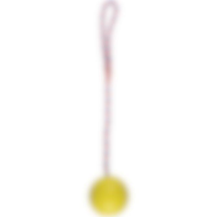 Jchien Caoutchouc Classic Balle+clochette Avec Corde Vert 7cm