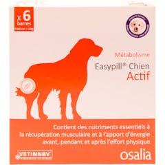 Easypill Chien Actif 6 Barres de 28g