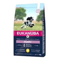 Eukanuba Puppy Medium Breed - Hondenvoer Met Kip - 15kg