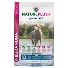 Eukanuba Natureplus+ Puppy/junior - Graanvrij Hondenvoer Met Zalm - 10kg