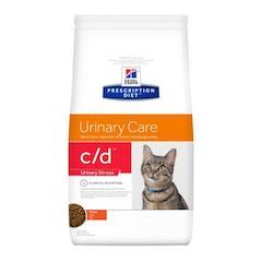 Hill's Prescription Diet C/D Urinary Stress croquettes pour chat au poulet