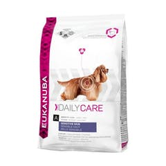 Eukanuba Daily Care Sensitive Skin pour chien 12kg