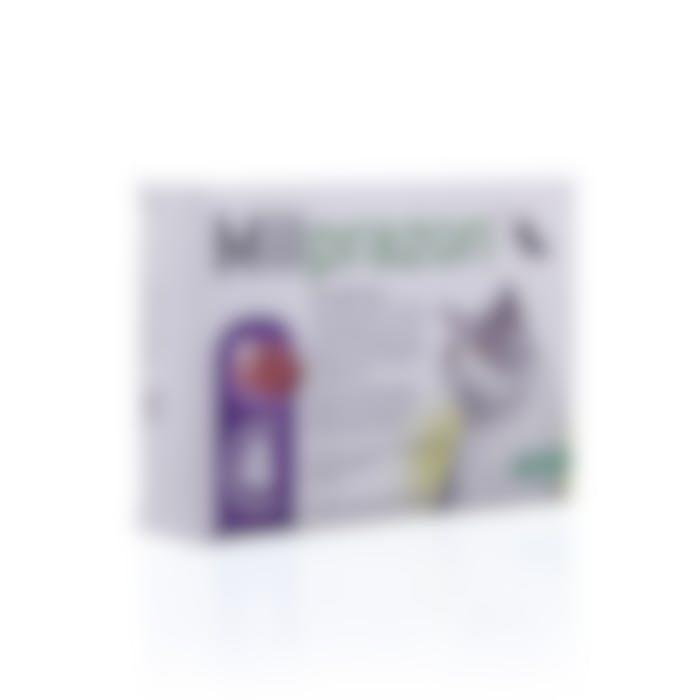 Milprazon Grote Kat 16mg - 4 Tabletten