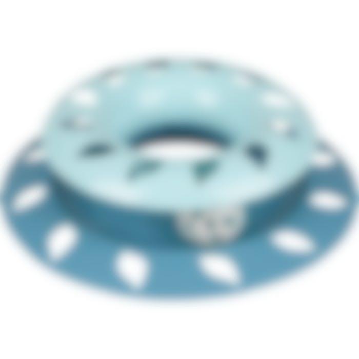 Ps Safira Blauw Rond 21x21x5,5cm