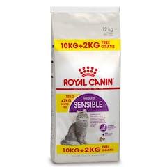 Royal Canin Sensible Pour Chat 10kg + 2kg Gratuit