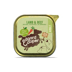 Edgard&Cooper Hondenvoer in kuipje met Lam – 11x 150g