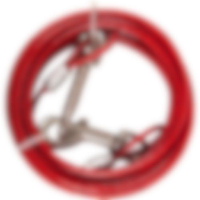 Cable De Niche Plastifiee Rouge 5m 4mm