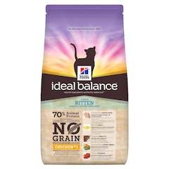 Hill's Ideal Balance Kitten No Grain – Kattenvoer met Kip – 1,5kg