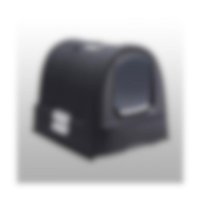 Litière couverte avec tiroir récupérateur anthracite