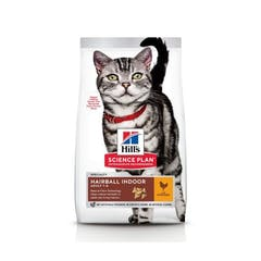 Hill's Science Plan Adult Hairball & Indoor Kip 3kg