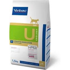 Virbac HPM Urology Struvite Dissolution U1 pour chat 1,5kg