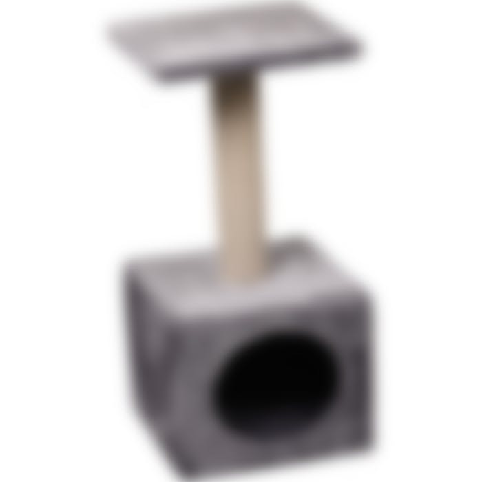 Arbre À Chat Charles Gris 30x30x64,5cm