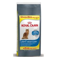 Royal Canin Light Weight Care Pour Chat 10kg + 2kg Gratuit