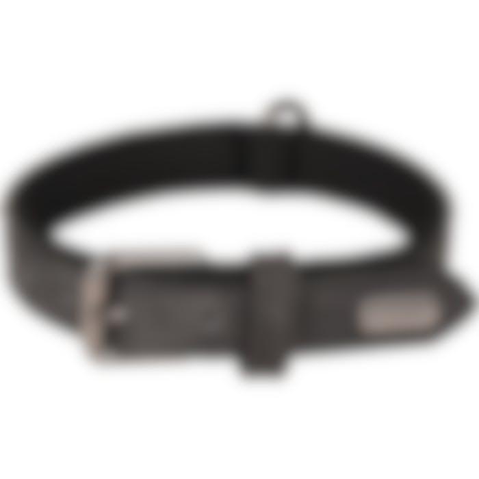 Collier Delu Noir 31/39cm 20mm