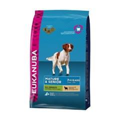 Eukanuba Mature & Senior All Breeds pour chien Agneau & Riz 2,5kg