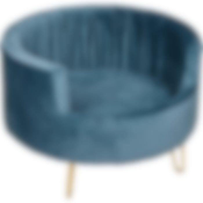 Sofa Vivi Petroleumblauw 48x48x33cm
