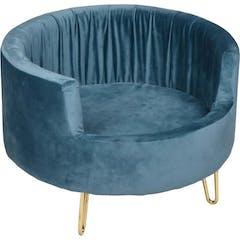 Sofa Vivi Bleu Pétrole 48x48x33cm