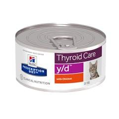 Hill's Prescription Diet Y/D pour chat 24x156g