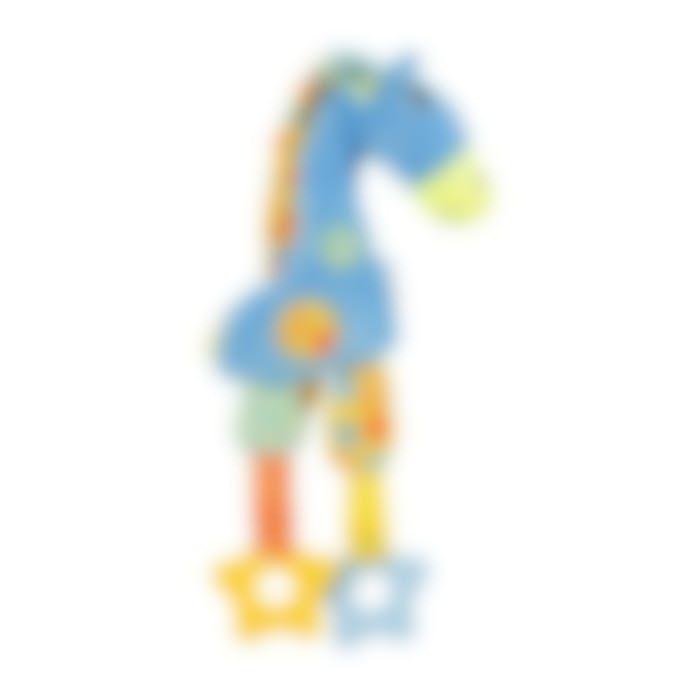 Peluche Puppy Girafe Bleue