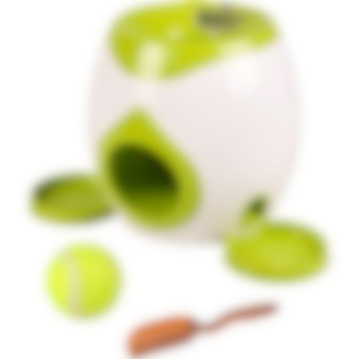 Jchien Wilson Jouet Automatique De Balle Et Friandises Interactif+ Balle De Tennis 18cm