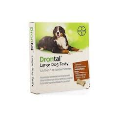 Drontal Large Dog Tasty - 2 Tabletten