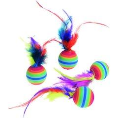 Ps 4 Rainbowballen Met Veer