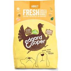 Edgard&Cooper Biologisch Hondenvoer met Kalkoen – 7kg