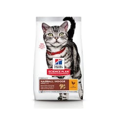 Hill's Science Plan Adult Hairball & Indoor Kip 1,5kg