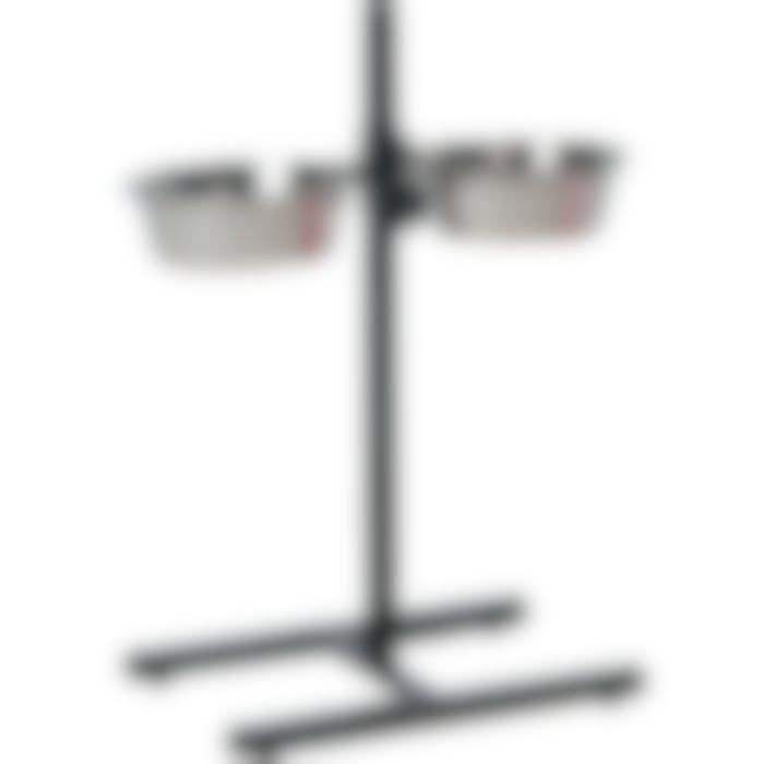 Support En H Avec Ecuelles Otis 2x25cm 2,5l