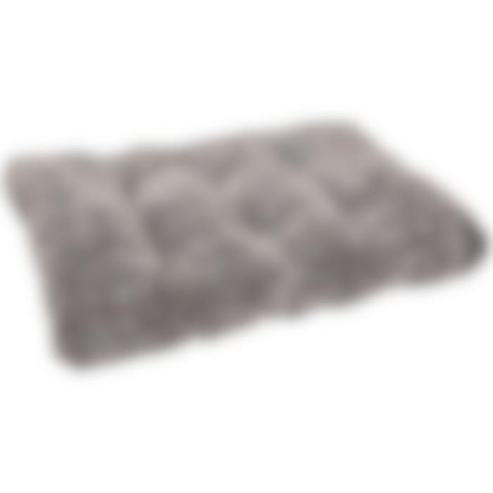 Coussin Snoozzy Rectangulaire Gris/noir 100x65x15cm