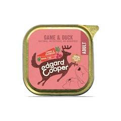 Edgard&Cooper Hondenvoer in kuipje met Wild – 11x 150g