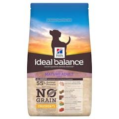 Hill's Ideal Balance Mature No Grain – Hondenvoer met Kip – 12kg