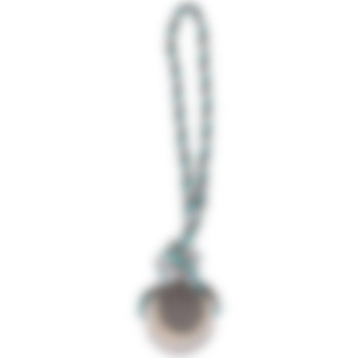 Jchien Coton Jim Corde De Tirage Tennis Menthe/blanc/gris S Dia. 6cm/40cm