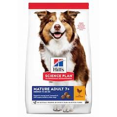 Hill's Science Plan Mature Adult croquettes pour chien agé au poulet