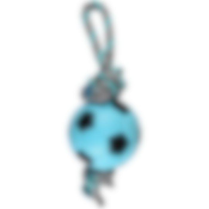 Jchien Tpr Sporty Ballon De Football+corde Bleu 12cm