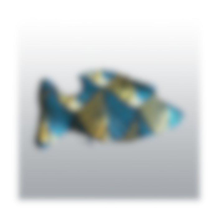 Jouet Chat Poisson Bleu Paon Homycat