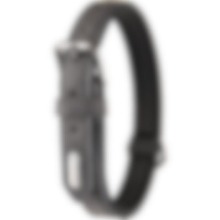Collier Delu Noir 29/35cm 15mm