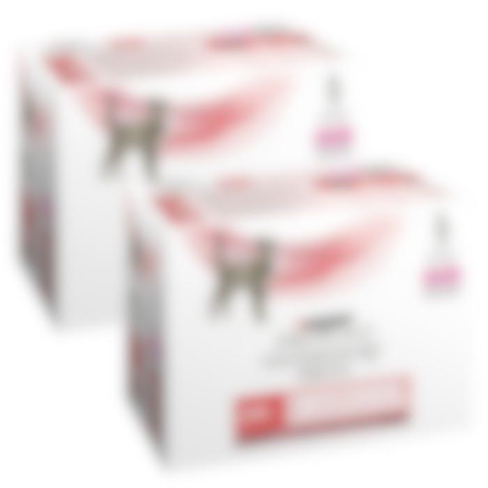 Purina veterinary diet DM chat - Pack de 2 boîtes de 10 Sachets de 85g au Boeuf