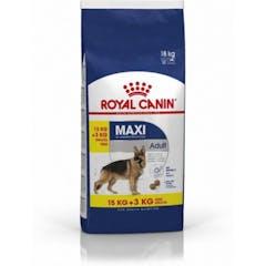 Royal Canin Maxi Adult Hondenvoer 15kg + 3kg Gratis