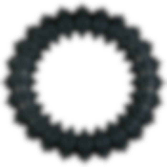 Hs Rubber Gladiator Ring Zwart Dia. 15cm